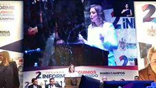 La Alcaldesa Maru Campos Rindió su Segundo Informe de Labores