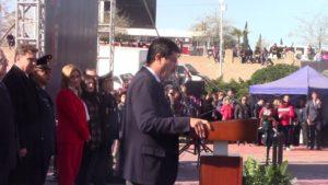 Ceremonia del Día de la Bandera: Mensaje del Gobernador Javier Corral