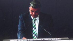 El Dip. Alejandro Gloria González propuso regular el Trabajo Distancia