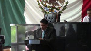 El Dip. Rene Frías, presentó iniciativa del Senado sobre la Reforma Educativa