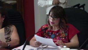 La Dip. Amelia Ozaeta, exhortó a Fiscalia, patrulle preventivamente no de cacería a conductores