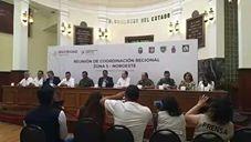 Reunión de Gobernadores en el marco de Coordinación Regional Zona 5, en Chihuahua Capital