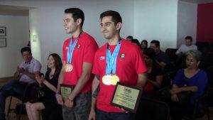 Los chihuahuenses Rodrigo Montoya y Javier conquistan medallas de oro para México.