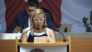 La Dip. Ana Estrada, propuso fomentar las ciclopistas