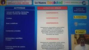 Seguirán las restricciones y suspensión de actividades comerciales en Chihuahua. Hoy definen