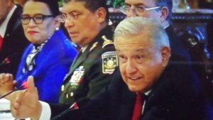 AMLO recibe a funcionarios de USA, antes de Reunión de Seguridad de alto nivel